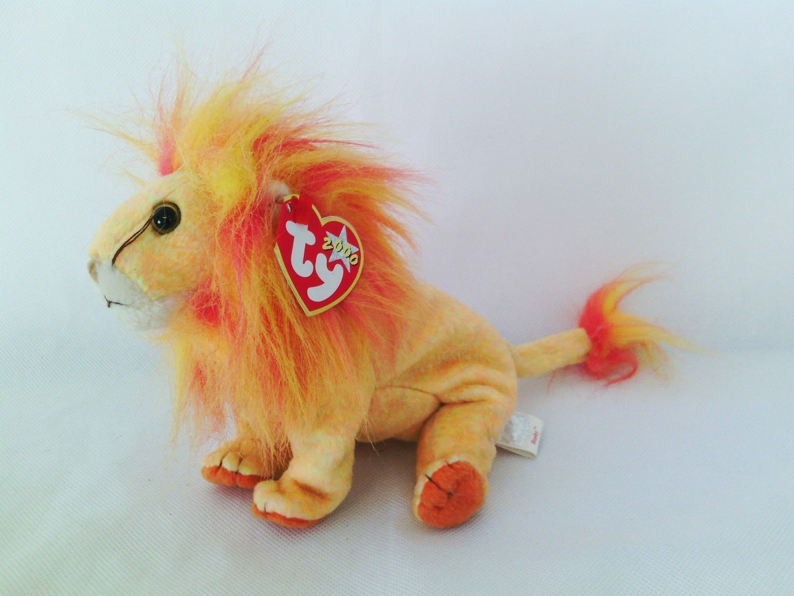 3b3fdc8e469 TY BEANIE BABIES COLLECTION - BUSHY the LION