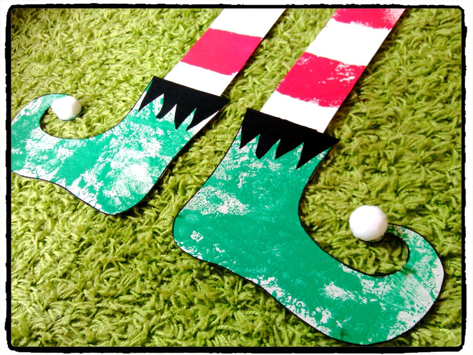 Bricolage noel bottes du lutin bricolage enfant no l pinterest la lutine lutins et - Bricolage de noel pinterest ...