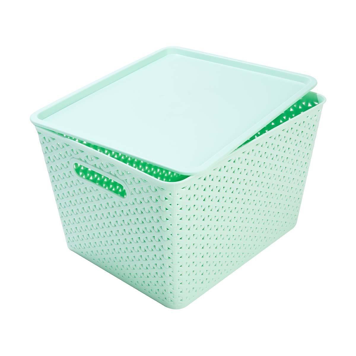 7 22cm H X 35cm W X 29cm D Storage Container Mint Home Co