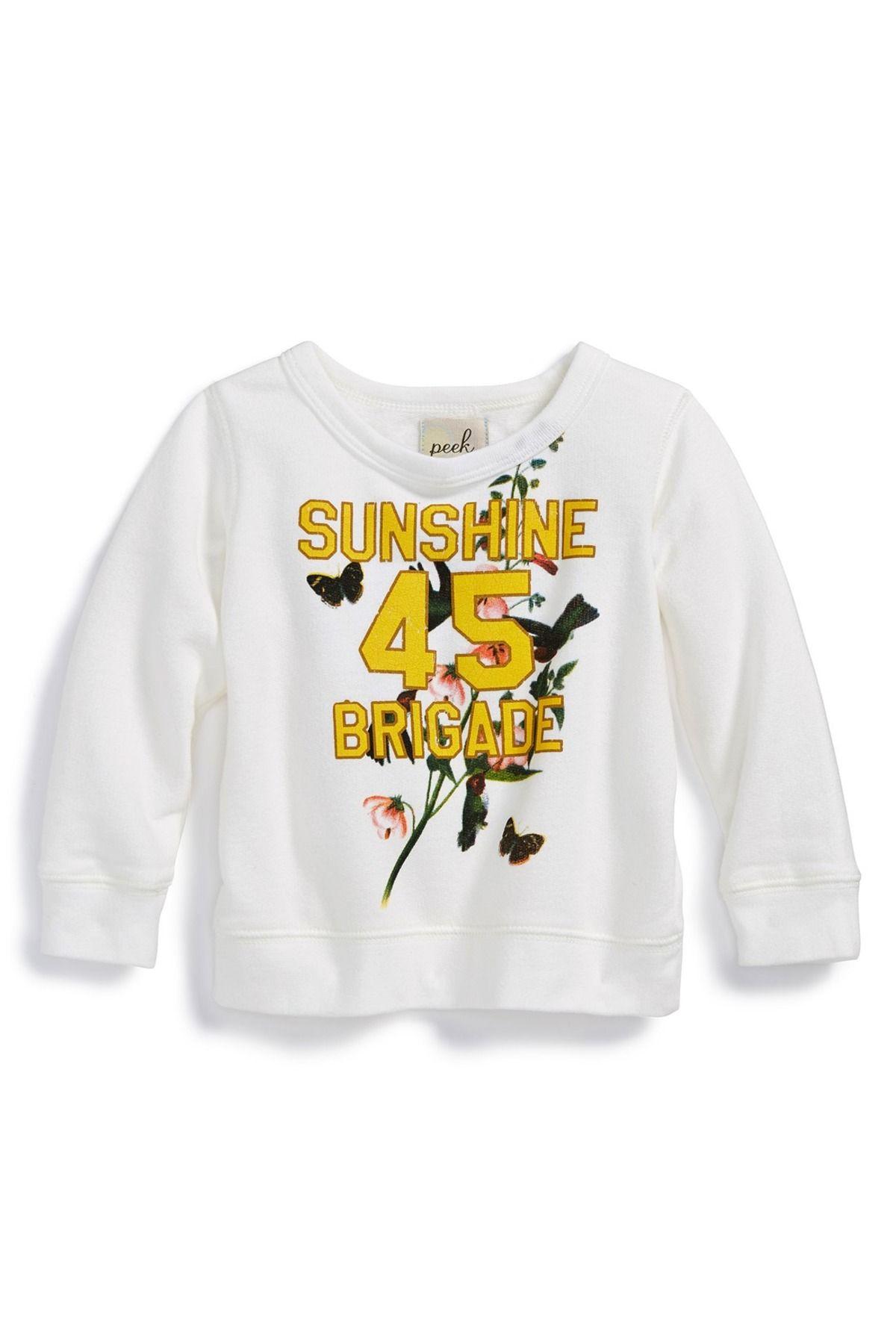 'Sunshine Brigade' Sweatshirt (Baby Girls)
