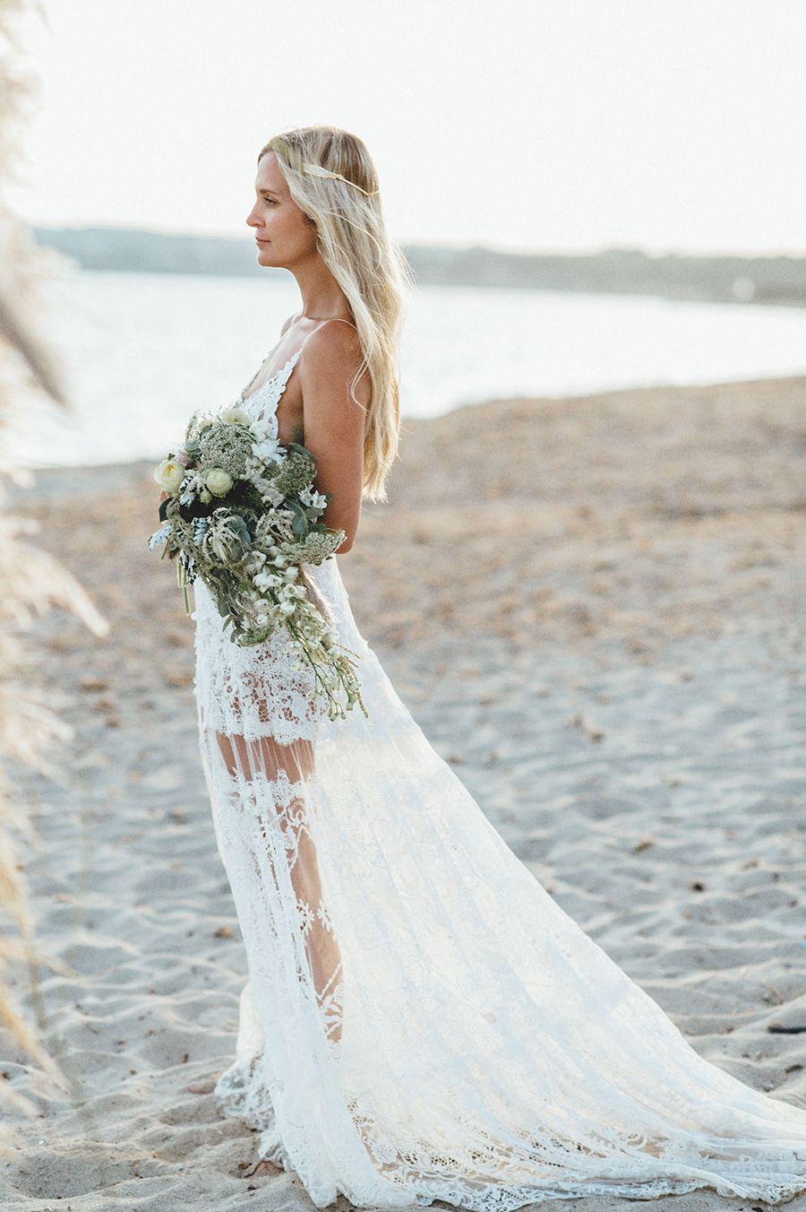 strandhochzeit auf formentera beach wedding formentera brautkleid yolan cris fotos kreativ. Black Bedroom Furniture Sets. Home Design Ideas