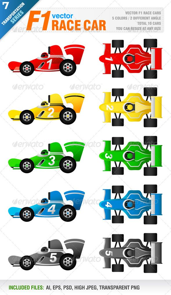 F1 Race Car Vetores Ayrton Senna