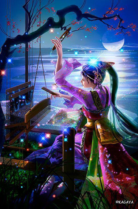 Starry Tales By Kagaya Fantasy Artwork Fantasy Art Art