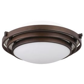 Portfolio 12 58 in w oil rubbed bronze ceiling flush mount item shop portfolio oil rubbed bronze flush mount at lowes canada find our selection of flush mount ceiling lights at the lowest price guaranteed with price aloadofball Image collections