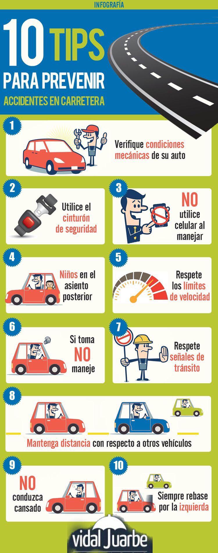 Evita Accidentes Seguridad Vial Educacion Consejos De