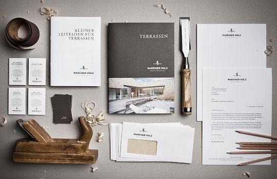 Mareiner Holz  Corporate Identity & Design