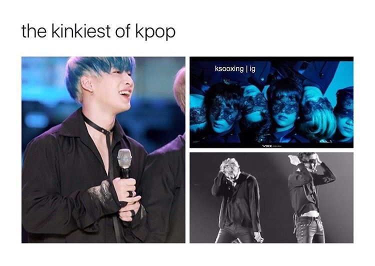 The Kinkiest Of Kpop