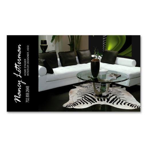 Business Card Design for Interior Designers Self ...