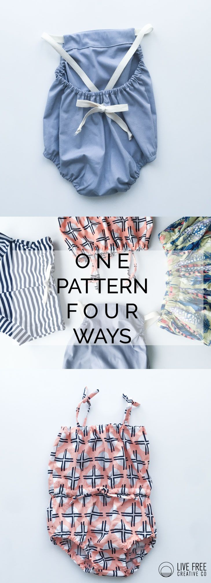 Photo of One Pattern, Four Ways