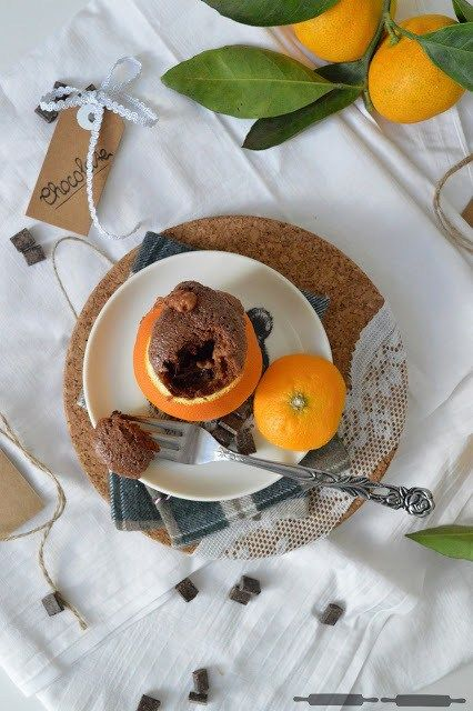 Brownies in Orangen