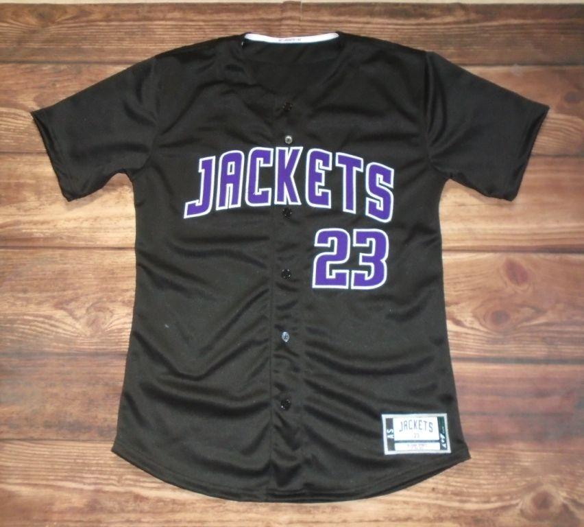 Iowa high school jackets baseball custom jersey created at