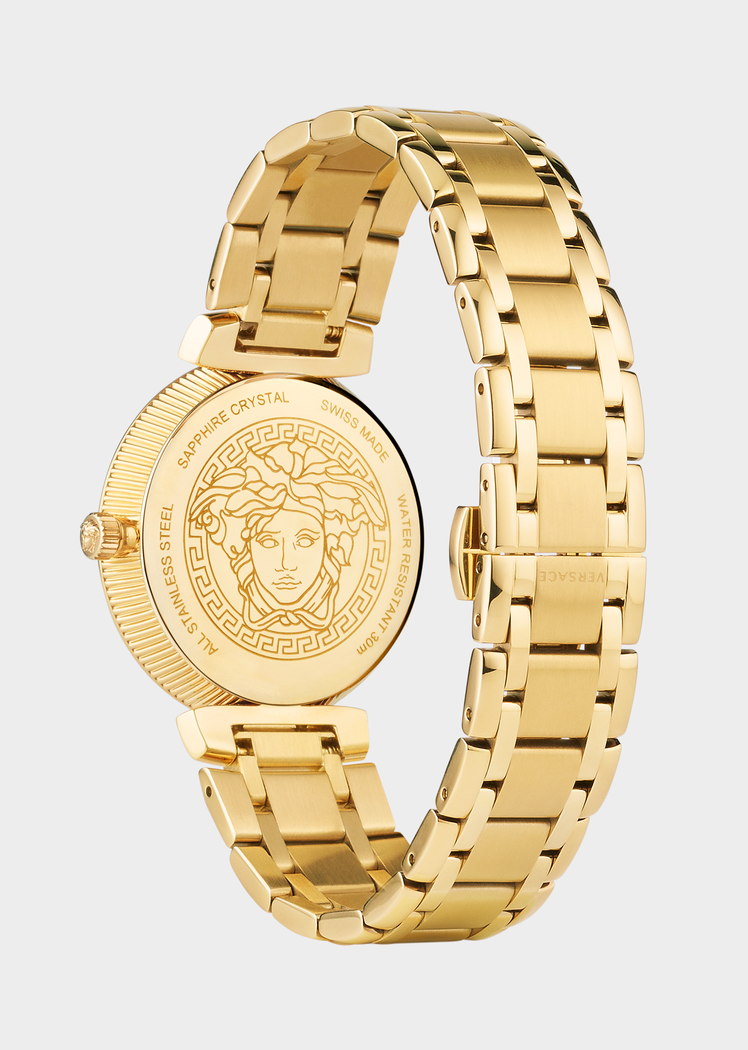 860fa8d58e Gold Daphnis Watch for Women | US Online Store | 20 | Versace gold ...