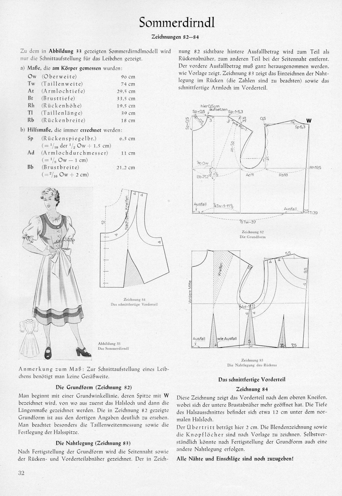 1954\'s blouses - Women\'s Cutter and Tailor - The Cutter and Tailor ...