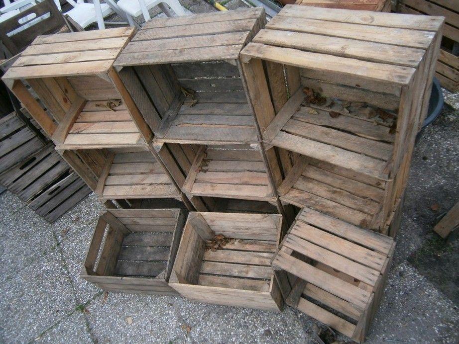 Fruitkisten gratis bouwmaterialen for Tweedehands meubels webshop