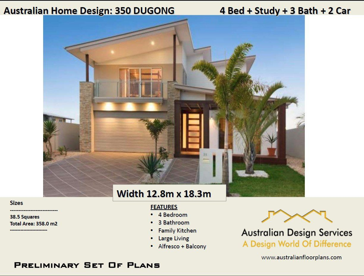 358 M2 3853 Sq Feet4 Bed Study Office 2 Storey Design Etsy In 2021 House Plans Australia House Plans 2 Storey 2 Storey House Design
