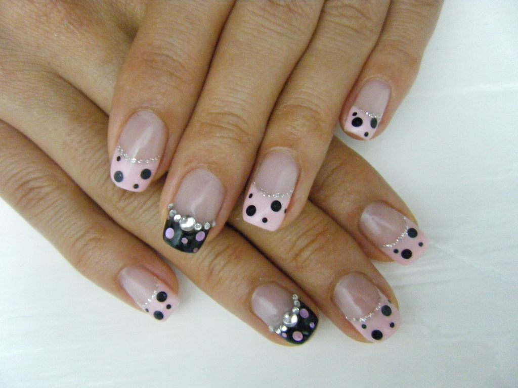 Frenchnaildesignsgel Index Of Imagesgel Nails N M Nail Art