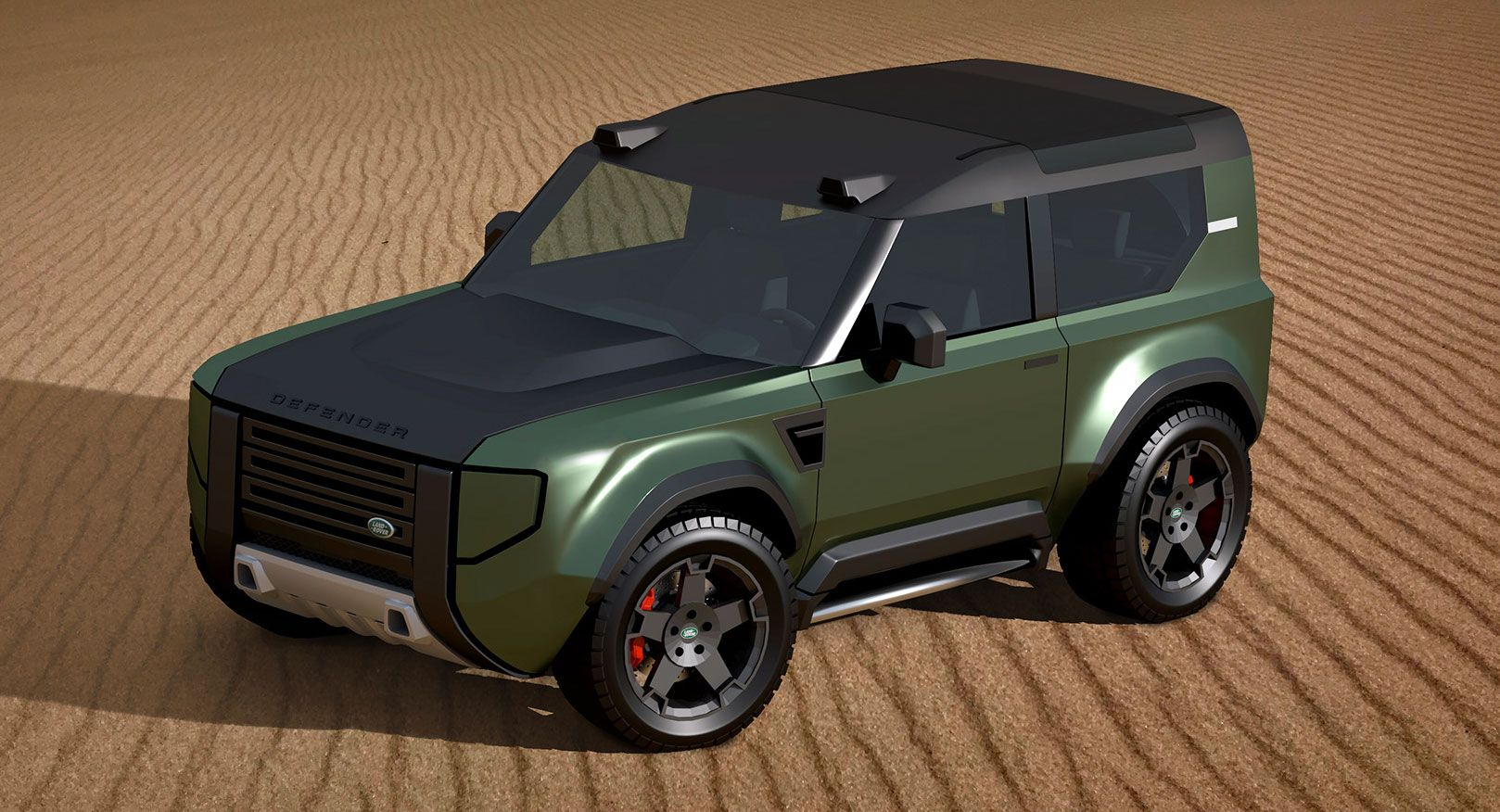 More Rumors On A Baby Land Rover Defender 80 As A Ford