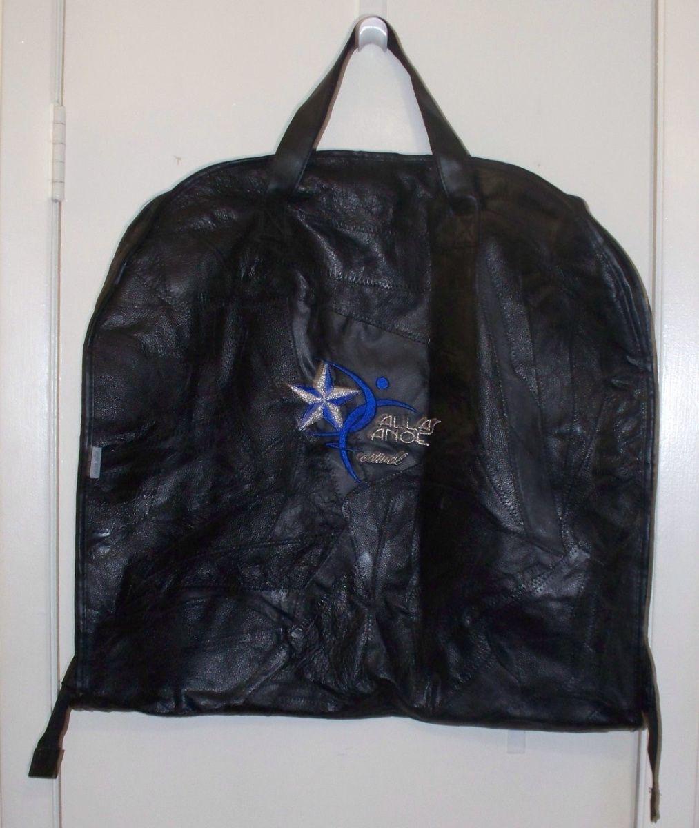 Dance Swag For Sale Dallas Dance Festival Leather Garment Bag Leather Garment Bag Bags Leather