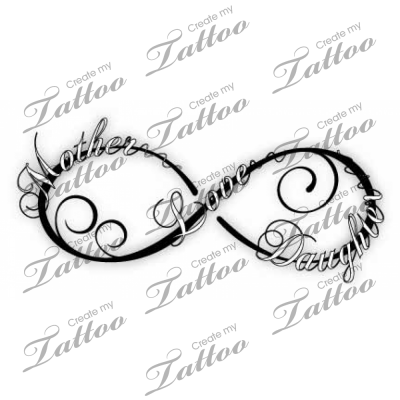 Mother Daughter Tattoos Infinity Google Search Tattoo