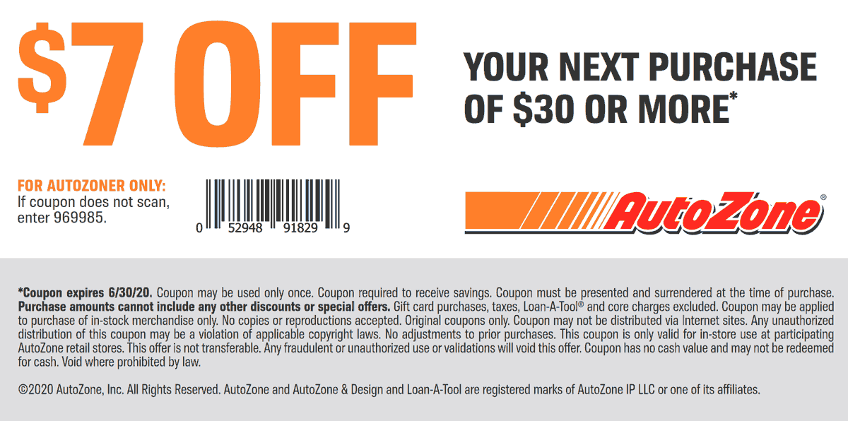 Pinned April 3rd 7 Off 30 At Autozone Thecouponsapp In 2020 Shopping Coupons Coupons Coupon Apps