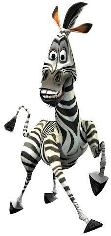 marty the zebra coloring pages - marty famosos de a color pinterest madagascar