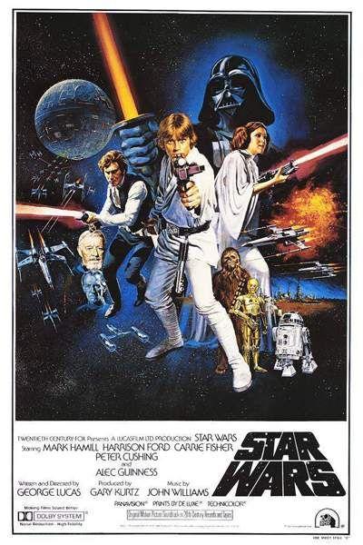 Star Wars (La guerra de las galaxias) (1977)