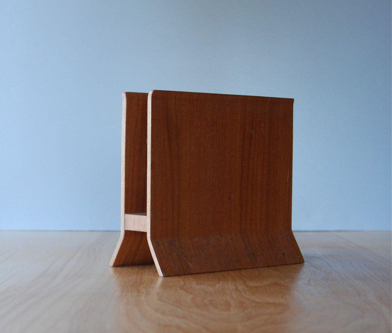 Vintage Bent Wood Napkin Holder Or Letter Holder 25 00