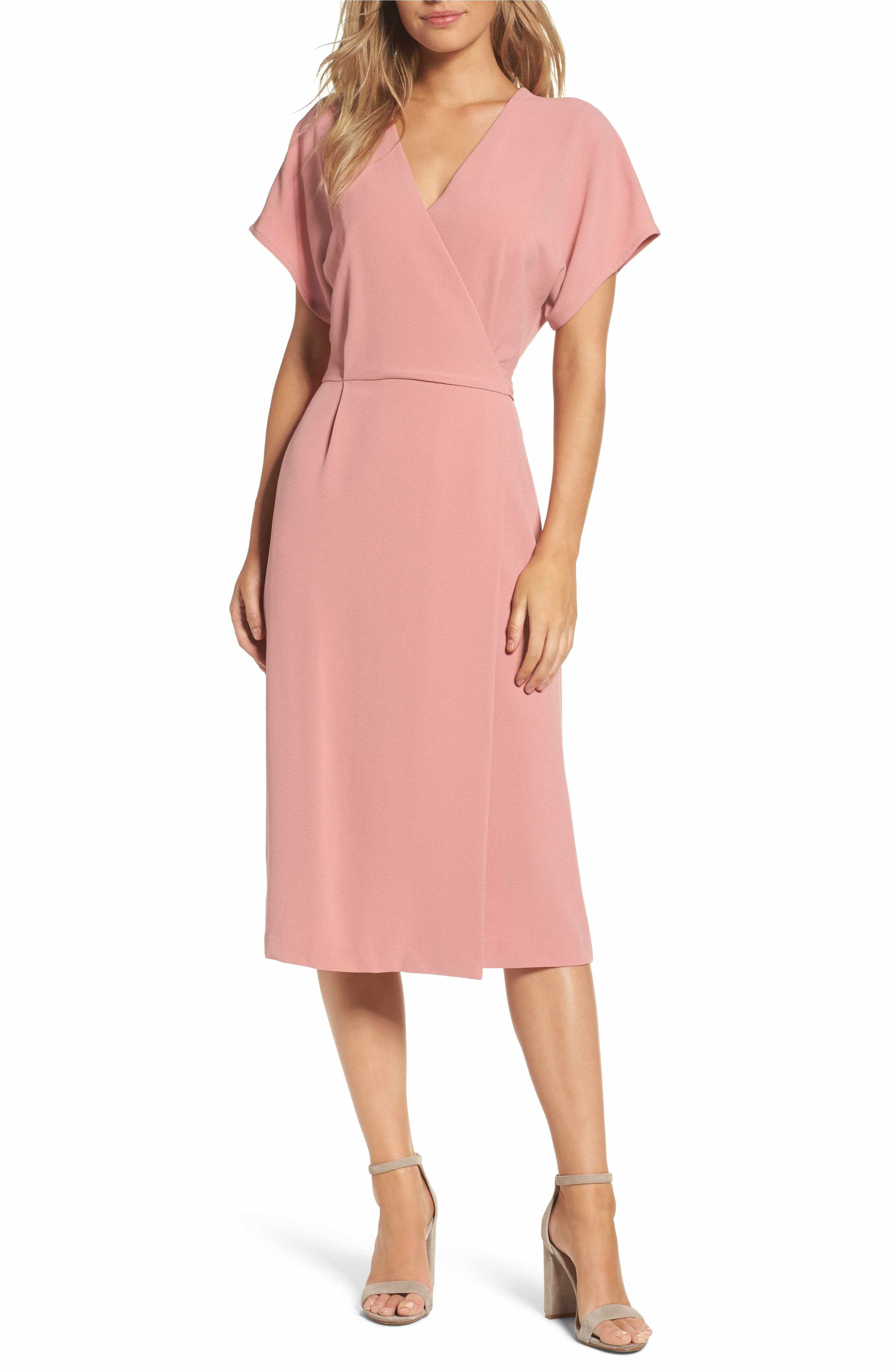 Main Image - Felicity & Coco Wrap Dress (Regular & Petite ...