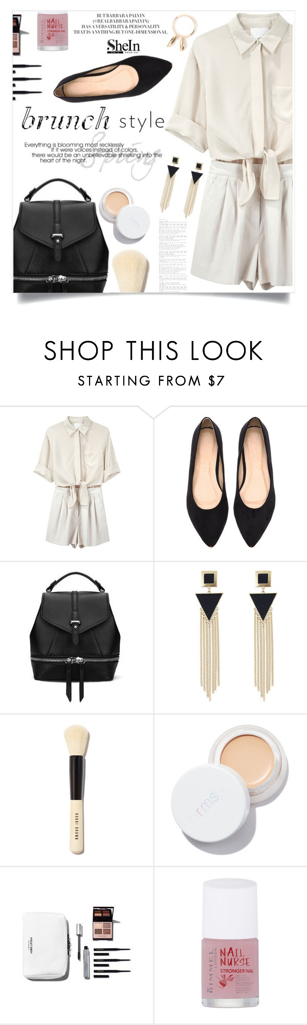"""""""Here Comes the Spring"""" by violet-peach ❤ liked on Polyvore featuring 3.1 Phillip Lim, Bobbi Brown Cosmetics, rms beauty, Rimmel and Natasha Zinko"""