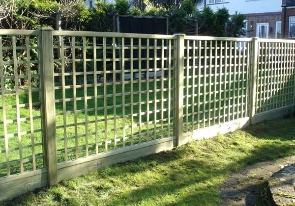 Trellis Fence Ideas Amazing Est Fencing With Sheds Garden Gates New Design Small Yard