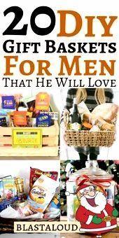 Gift Baskets For Men: 20 DIY Gift Baskets For Him That He Will Love - #Baskets #... - #baskets #DIY #Gift #Love #Men #boyfriendgiftbasket Gift Baskets For Men: 20 DIY Gift Baskets For Him That He Will Love - #Baskets #... - #baskets #DIY #Gift #Love #Men #boyfriendgiftbasket