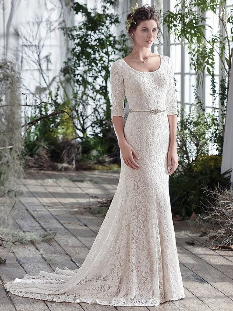 Famousipod Berbagi Informasi Tentang Pertanian Wedding Dresses Lace Fit And Flare Wedding Dress Modest Bridal Gowns