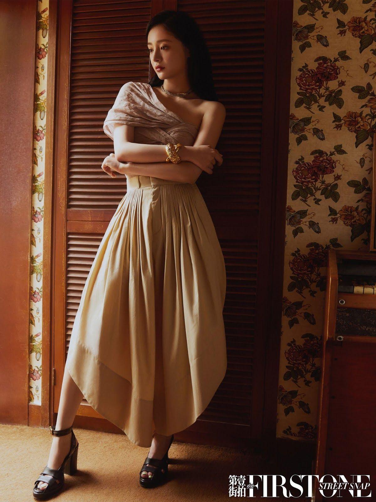Yang Yang poses for photo shoot   China Entertainment News