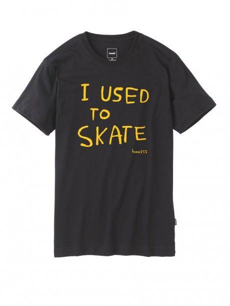 e9f8974694a1 I used to skate tee shirt #skateboarding | Skate | Skate t shirts ...