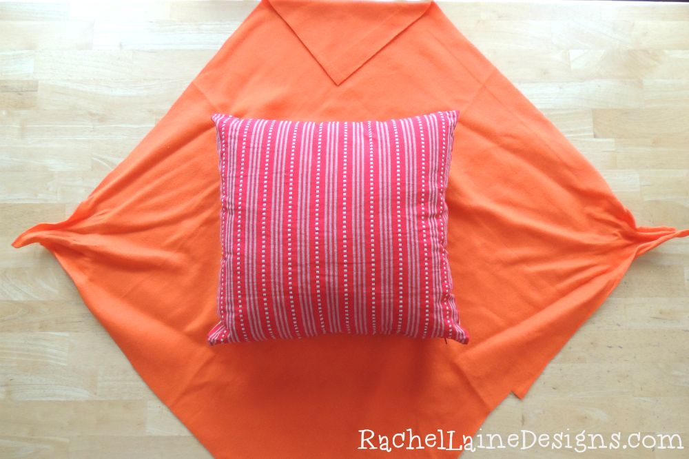 Easy DIY No Sew Pillow Cover & Easy DIY No Sew Pillow Cover | great ideas ... Need to use ... pillowsntoast.com