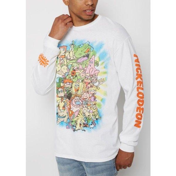 Nickelodeon Gang Long Sleeve Tee | Graphic Tees | rue21 ❤ liked on