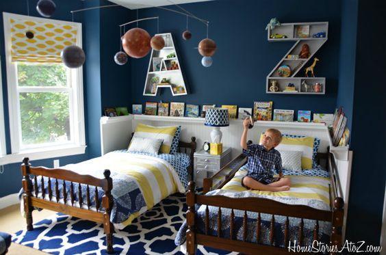 Ideas para decorar recamaras de gemelos camas gemelas for Camas gemelas juveniles