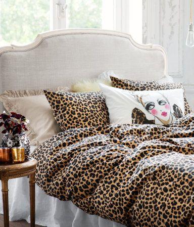 Duvet Cover Leopard Print H 12 99 Duvet Bedding Sets Leopard Print Bedroom Leopard Print Bedding