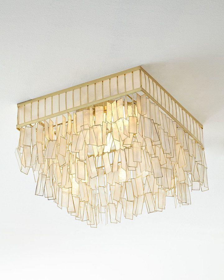 Mariah capiz flush mount ceiling fixture light it up pinterest mariah capiz flush mount ceiling fixture mozeypictures Image collections