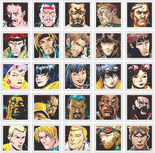 X Men 50th Anniversary 30 X Men Through The Decades Man Character X Men Marvel Comic Book Characters