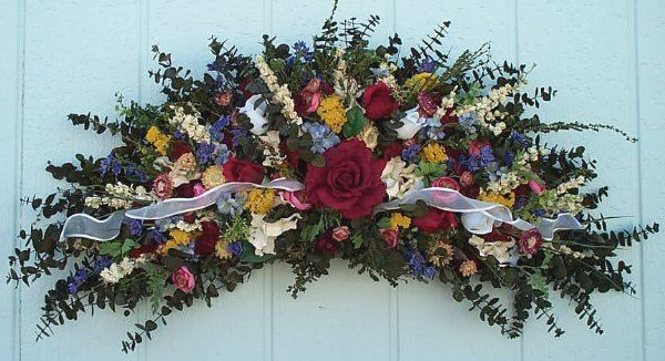 Country dried flower swags welcome to sugar creek home decor silk country dried flower swags welcome to sugar creek home decor silk floral wreaths flower mightylinksfo