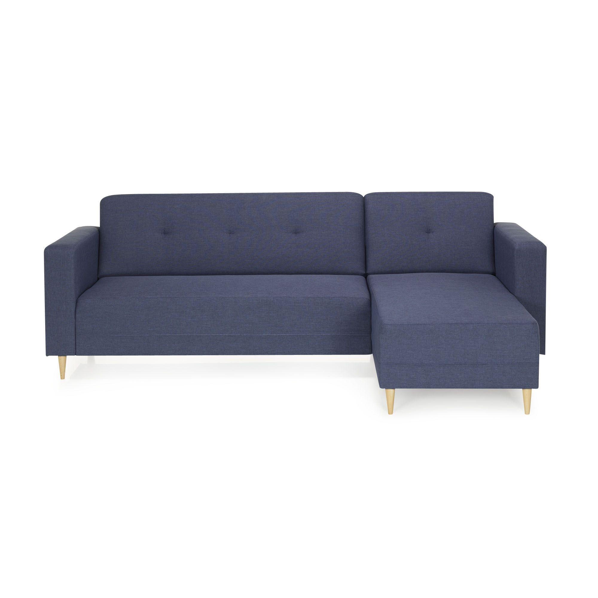Canapé Dangle Fixe Bleu Bleu Phill Canapés En Tissu Canapés - Canape alinea tissu