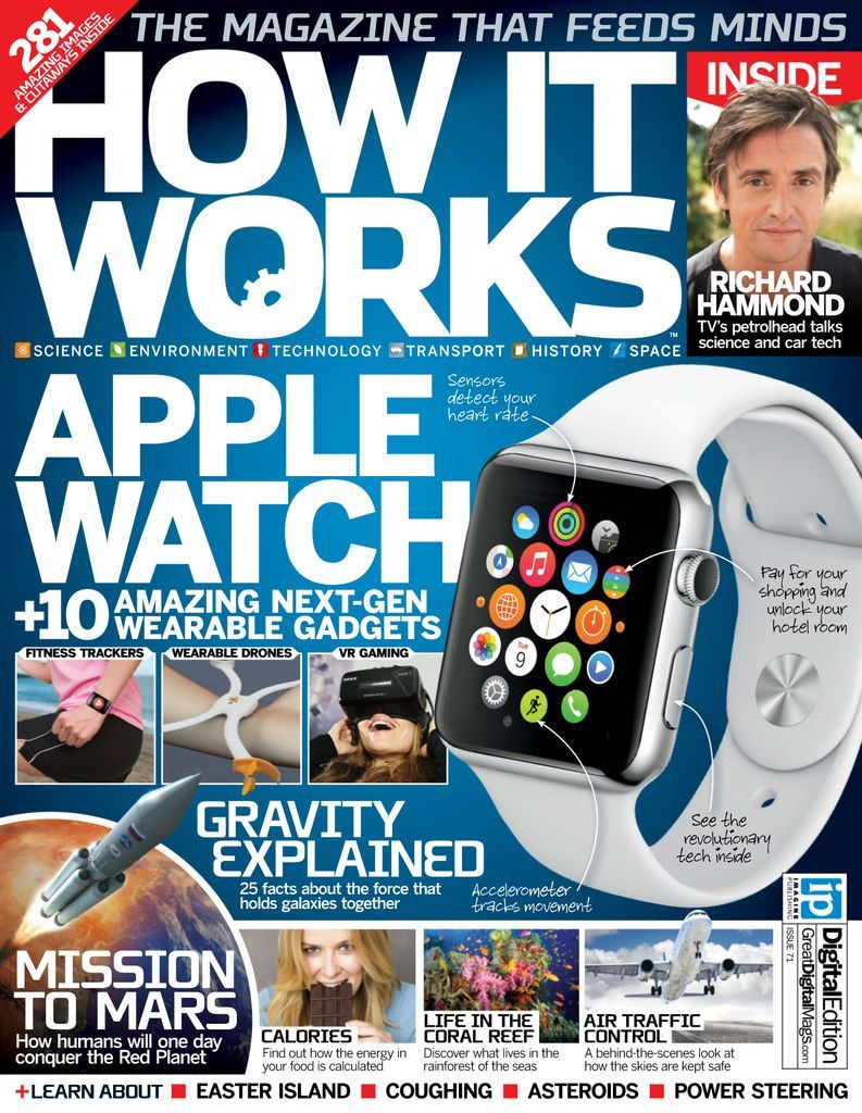 How It Works Back Issue No 71 Digital Technology Magazines It Works Fitness Tracker Wearable