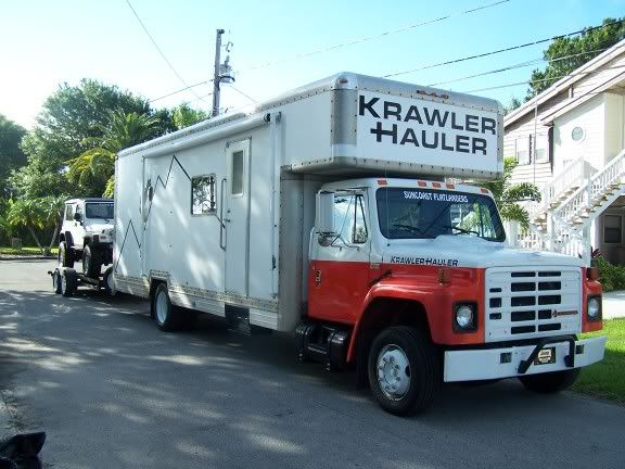 U Haul Krawler Hauler Transformed From A Plain Moving Truck To A