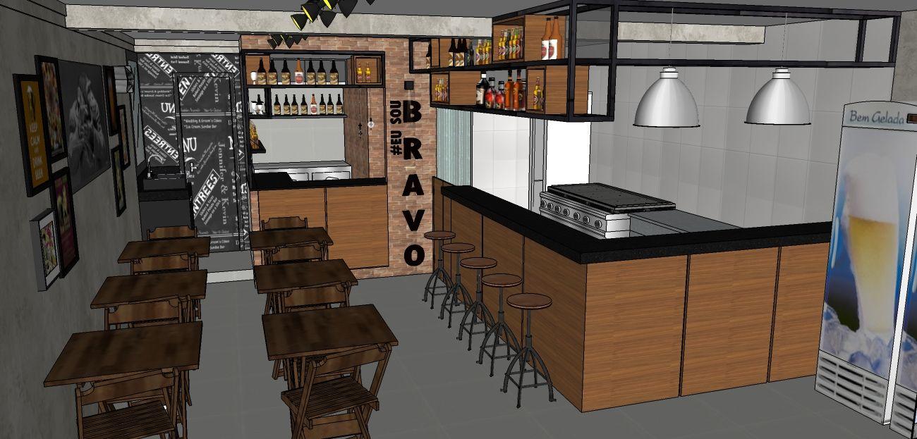 Projeto De Reforma Da Bravo Burger E Beer Em Salvador Ba Projetos