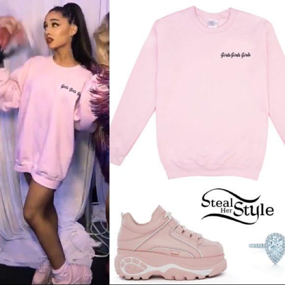 99ccd5435 Ariana Grande 7 Rings Platform Chunky Sneakers