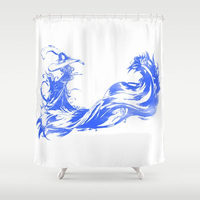 FINAL FANTASY X Shower Curtain By Marco Lilliu