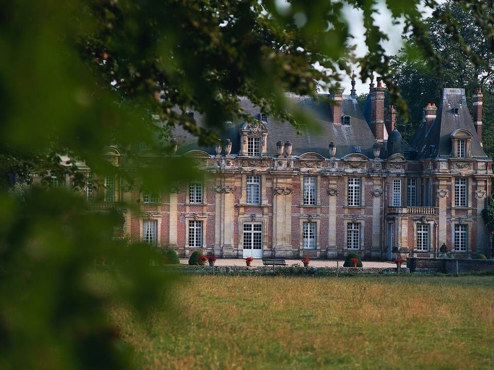Guy de Maupassant's birthplace: Château de Miromesnil, Tourville-sur-Arques, Département Seine-Maritime; Photo by Atout France Photo Library