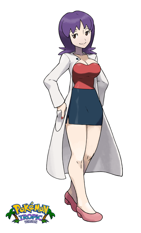 Pokemon professor ivy and ash