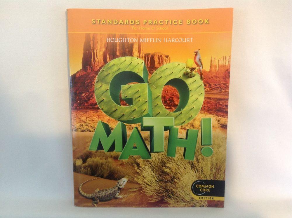 Go Math 5 Common Core Student Standards Practice Book HMH